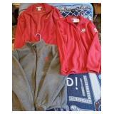 3 Alabama Crimson Tide Columbia Zip Up Jackets