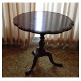 Small vintage wooden side table