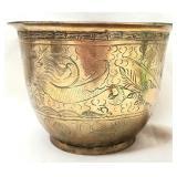 Vintage Decorative Brass Bowl