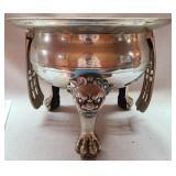 Vintage Korean brass Jardinere Footed Bowl