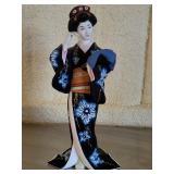 Asian Style ceramic figurine geisha girl, #103