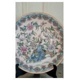 Porcelain Asian Style Decorative plate