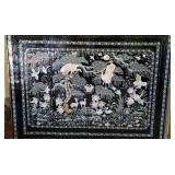 Amazing Large Asian Cabinet Mother Pearl