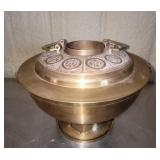 Brass Asian Style decorative candle holder,  #161