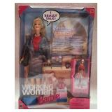 Collectible working woman Barbie doll