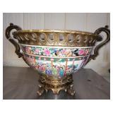 Porcelain Asian Style decorative piece, # 123