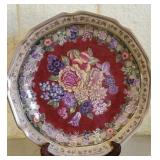 Beautiful Hand painted Decorative Floral Plate 55