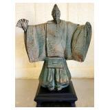 Heavy Decorative Asian Style Chalk ware Figurine