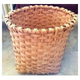 Large Handmade Split White Oak Basket