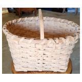 Vintage Handmade Split White Oak Basket