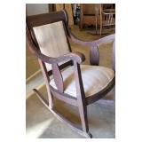 Antique Empire Oak Rocking Chair
