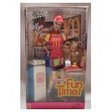 Vintage collectible McDonalds barbie doll