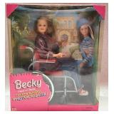 Collectible Becky photographer Barbie