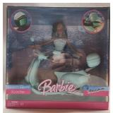Collectible Barbie Beach Glam with scooter