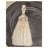Sterling silver handle brush