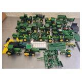 Estate lot of several John Deere toys