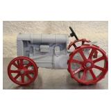 Vintage metal painted Fordson model tractor