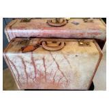 Vintage Set of Airess Platt Hard Suitcases