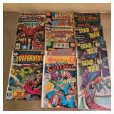 Lot of 10 comics