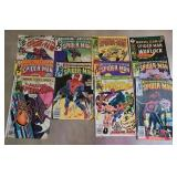 Lot of vintage spiderman comics