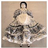 Antique White Porcelain Victorian Style Doll