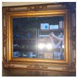 Gorgeous framed mirror