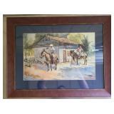 Lopez Baylon framed print