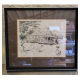"""Signed Lake """"Country Store"""" print 3/500"""
