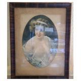 Antique framed photography