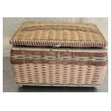 Basket full of sewing stuff