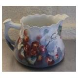 Gorgeous hand painted pitcher