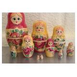 Set of vintage nesting set