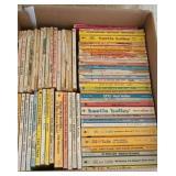 Box full of vintage childrens books