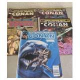 Lot of 5 Conan comics