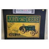 John Deere General Purpose Metal Decorative Sign
