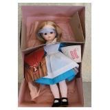 "Rubber Madame Alexander ""Alice"" doll"