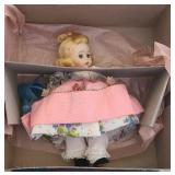 """Vintage hard plastic Madame Alexander """"Mary"""" doll"""