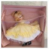 "Plastic Madame Alexander ""Amy"" doll"