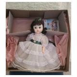 "Vintage plastic Madame Alexander ""Scarlett"" doll"