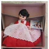 "Vintage plastic Madame Alexander ""JQ"" doll"