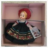 "Vintage plastic Madame Alexander ""finland"" doll"
