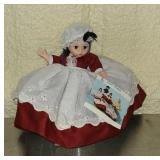 Little women plastic doll