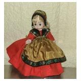 Madame Alexander plastic Sweden doll