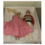 Vintage barbie and Ken doll
