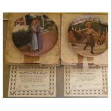 Lot of 2 Knowles collectable plates