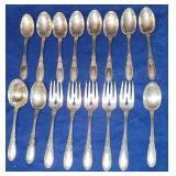 Towle Sterling Silver Ola Mirror flatware