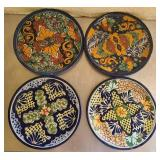 Lot of 4 collectible wall hanging plates