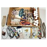 Lot of Vintage Sterling Plated & Costume Jewelry