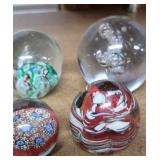 Lot of 4 paper weights