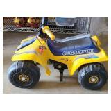 Power wheels Lil Suzuki as is